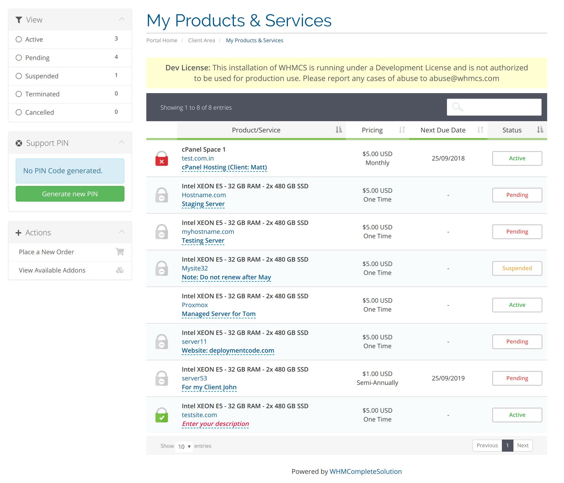 Product Descriptions For Clients For Whmcs Product Descriptions For Clients Whmcs Deploymentcode Documentation